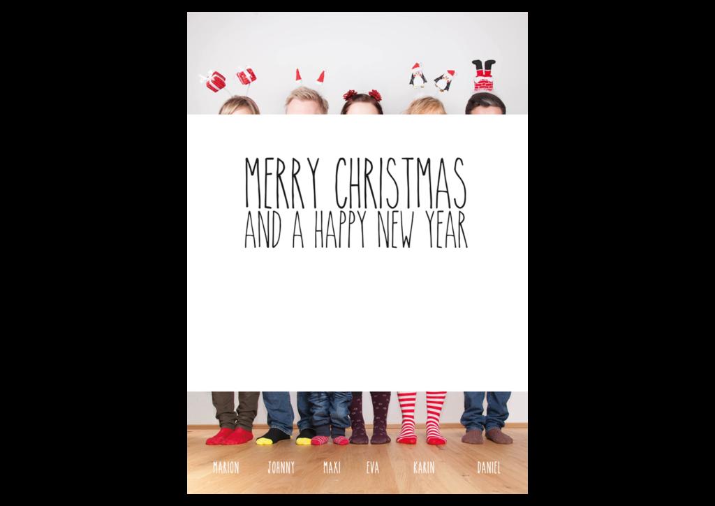 Weihnachtskarte A5