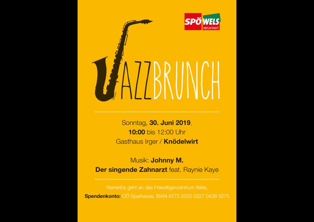 Plakat: Jazzbrunch A3